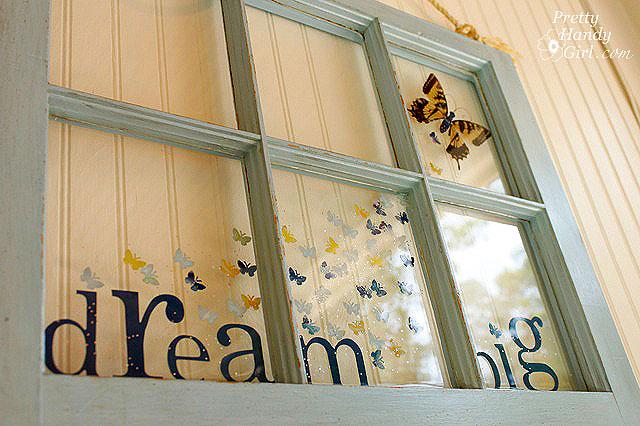 Craft Ideas Old Windows