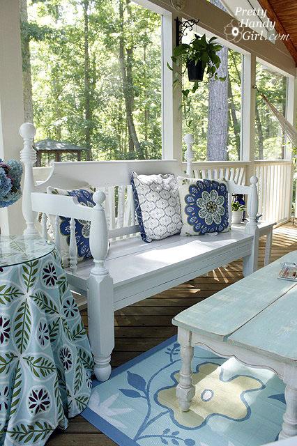 Refinishing a Garden Bench