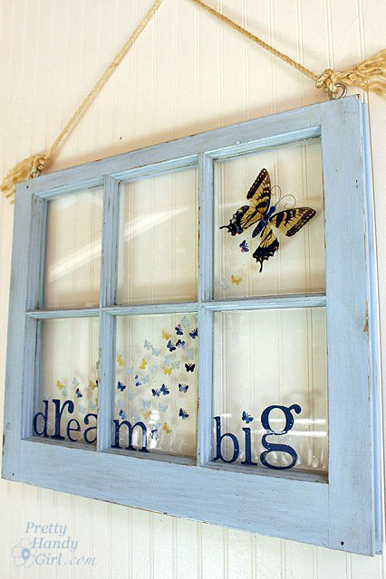 Big Butterfly Window
