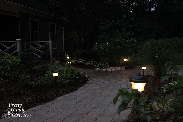 how to install low voltage landscape lights pretty handy girl
