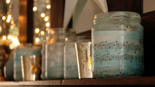 PrettyHandyGirl_music_Votives_on_shelf