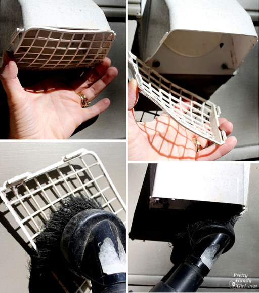 how to clean your dryer vent outside
