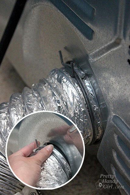 Installing Semi-Rigid Dryer Hose to Prevent Fire Hazard & Installing Semi-Rigid Dryer Hose to Prevent Fire Hazard - Pretty ...