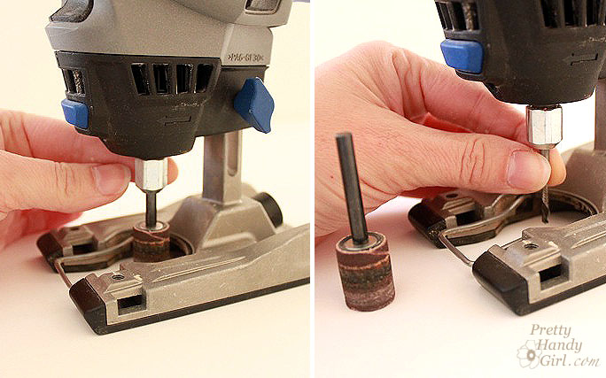 Tool Tutorial Friday Using A Dremel Trio Pretty Handy Girl