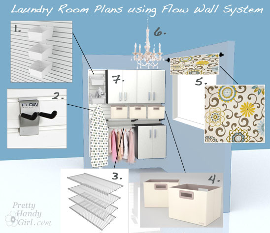 Plans To Update My Laundry Room With Flow Wall System