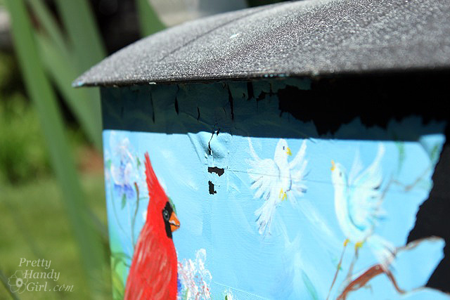 Make a House Shaped Mailbox - a Lowe's Creative Idea - Pretty Handy Girl