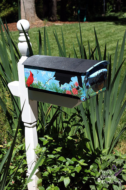 Make a House Shaped Mailbox - a Lowe's Creative Idea - Pretty Handy Girl