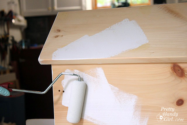 How To Paint A Miniature House Pretty Handy Girl