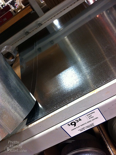 Install Your Own Magnetic Metallic Backsplash A
