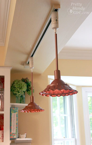 Farmhouse Style DIY Copper Pendant Lights