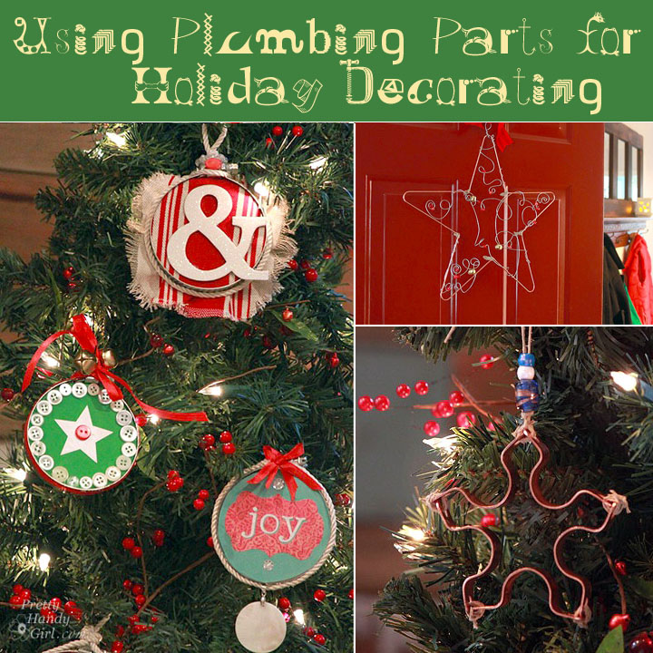 Plumb Crazy Over These Christmas Ornaments From Plumbing Parts
