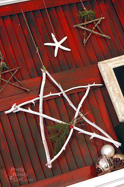 Twig Star Decorations