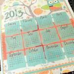 Tea Towel Calendar