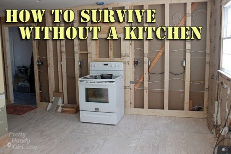 How to Survive without a Kitchen