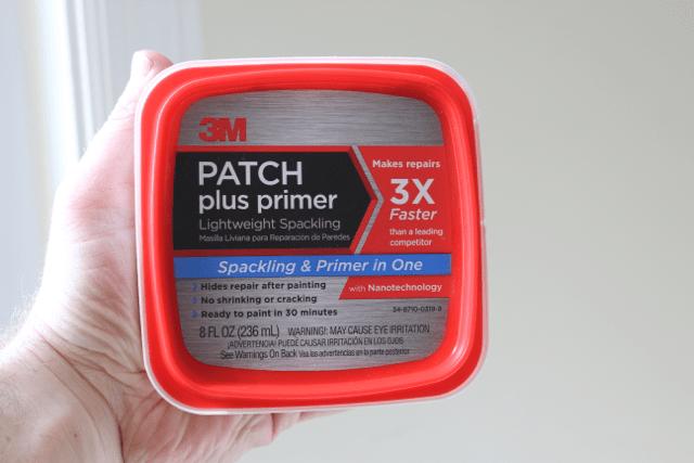 Cracks in Drywall-3M Patch Plus Primer