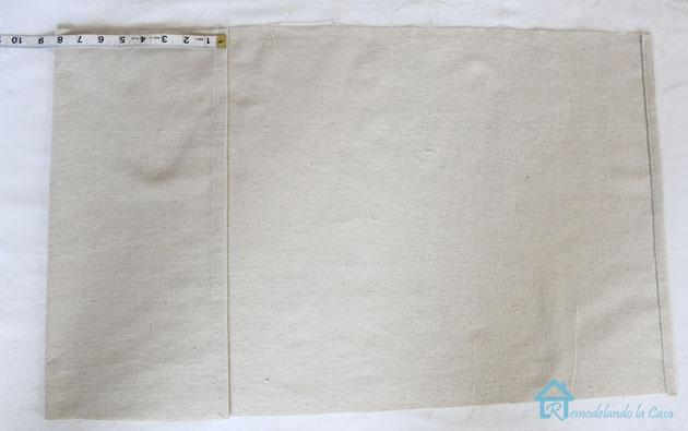 Envelo pillow first fold