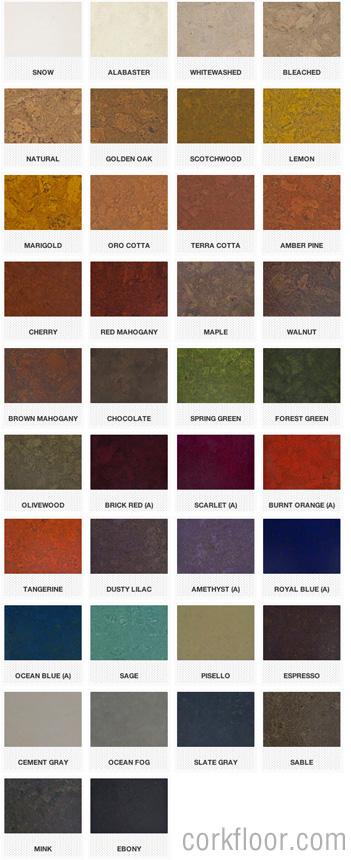 Globus_cork_tile_colors