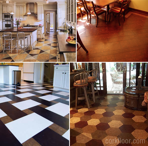 Kitchen Floors How I Decided To Use Cork Tiles Pretty Handy Girl