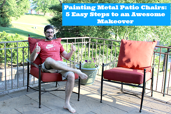 painting metal patio chairs 5 easy