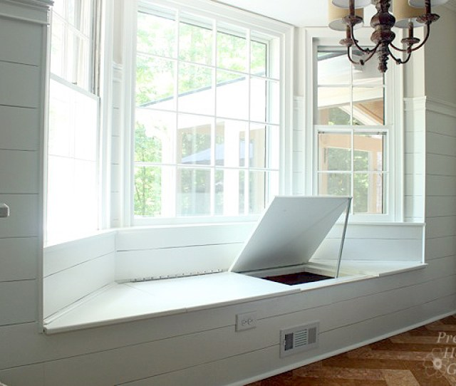 Basics For Building A Built In Window Seat In A Bay Window