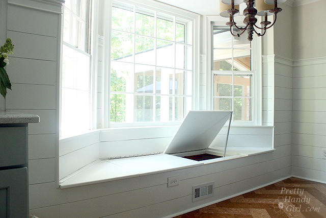 Delicieux Basics For Building A Built In Window Seat In A Bay Window: