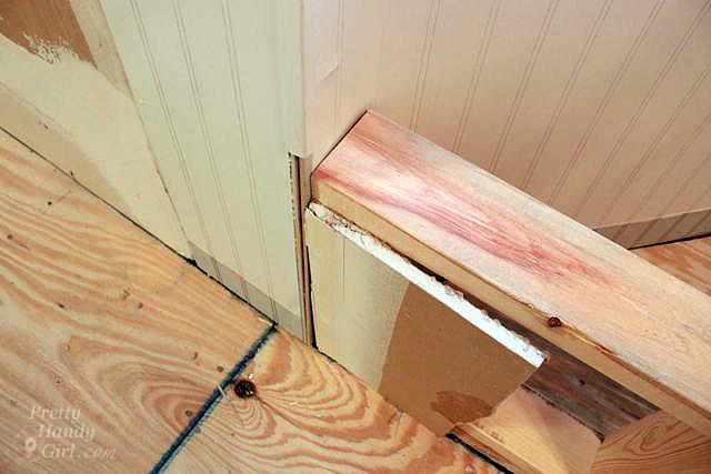 set frame back allow drywall setback