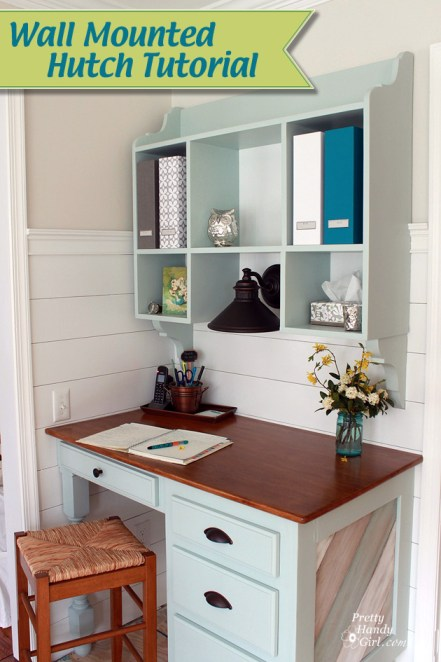 Build a Wall Mounted Hutch