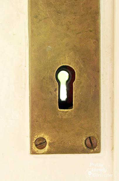 keyhole_brass_plate