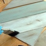 The Painted Distressed Wood Panel Tutorial