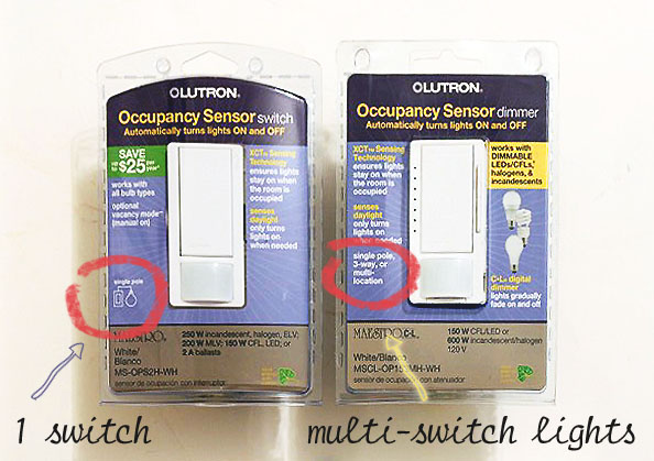 How to Install a Lutron Maestro Occupancy Sensor on a 3-way Switch - Pretty  Handy GirlPretty Handy Girl