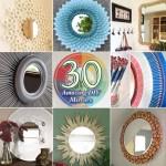 30 Amazing DIY Mirrors