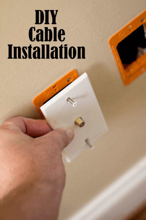 How do Install a Cable Outlet
