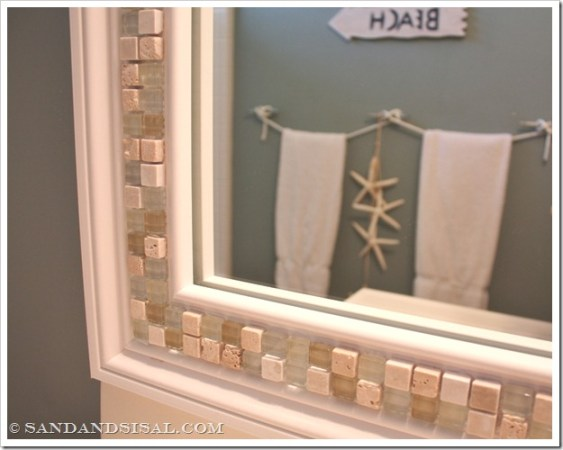 Mosaic Tile Mirror | 30 Amazing DIY Mirrors