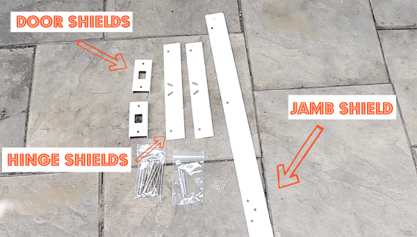 Reinforce an Entry Door and Make it Burglar Proof