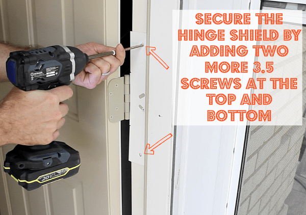 Hinge Shield Install 2