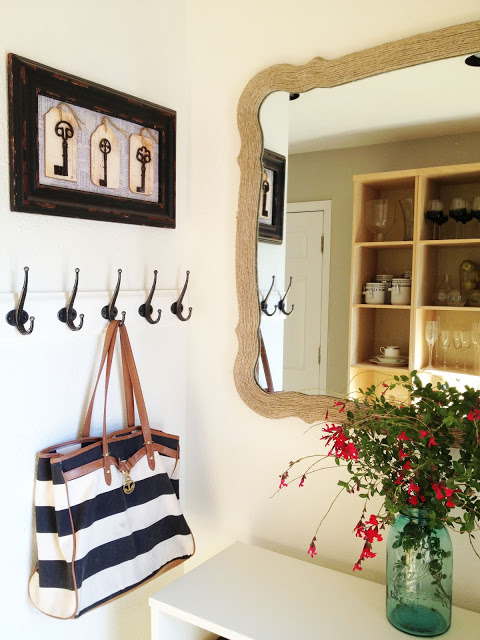 DIY Rope Mirror | 30 Amazing DIY Mirrors