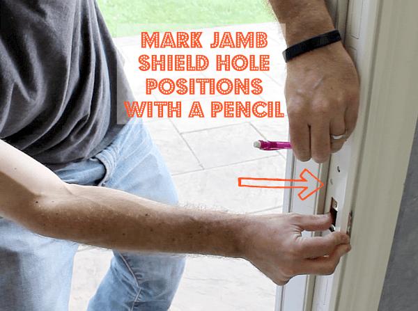 Mark Jamb Shield Holes