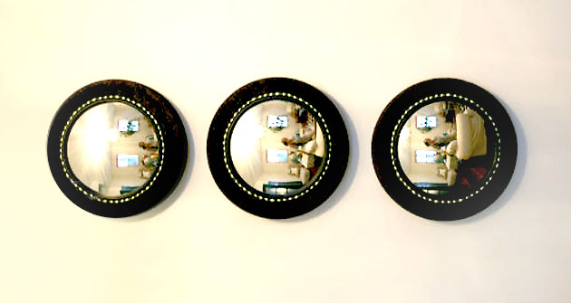 30 amazing diy decorative mirrors pretty handy girl convex mirrors 30 amazing diy mirrors solutioingenieria Images