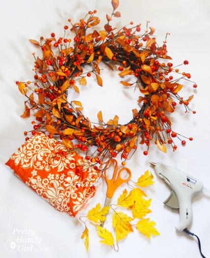 Easy Fall Wreath Tutorial