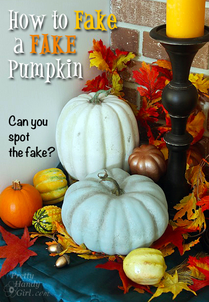 How-to-faux-paint-a-fake-pumpkin