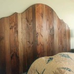 How to Create a Rustic Wood King Headboard