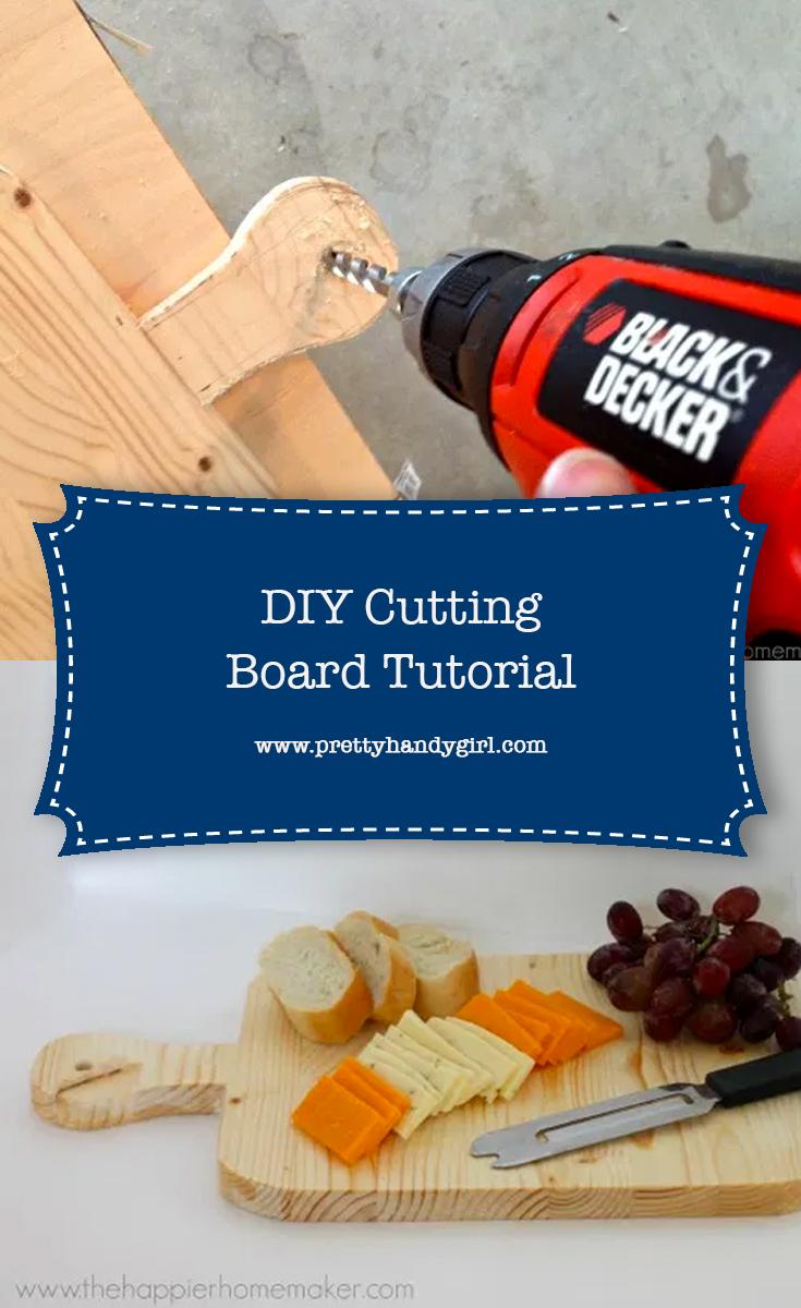 DIY Cutting Board Tutorial | Pretty Handy Girl