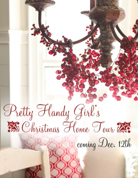 Pretty Handy Girl's Christmas Home