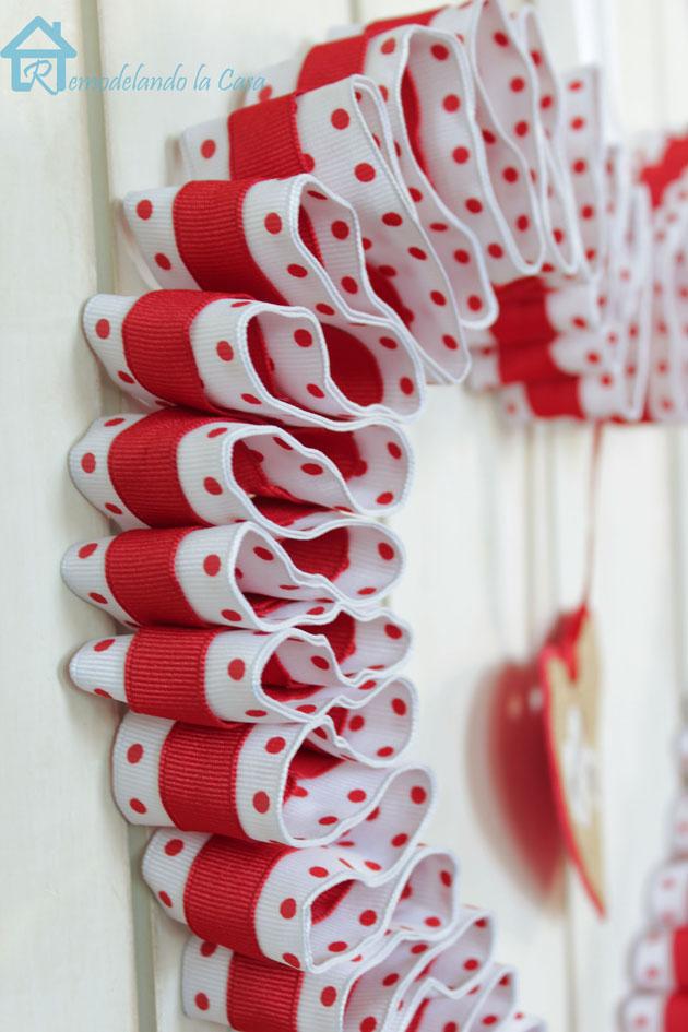 double ribbon heart wreath 5