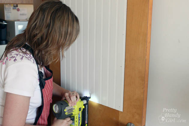 How to Add Panels to Flat Hollow Core Door | Pretty Handy Girl