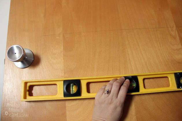 How to Add Panels to Flat Hollow Core Door   Pretty Handy Girl
