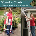 Xtend + Climb Telescoping Ladder Review | Pretty Handy Girl