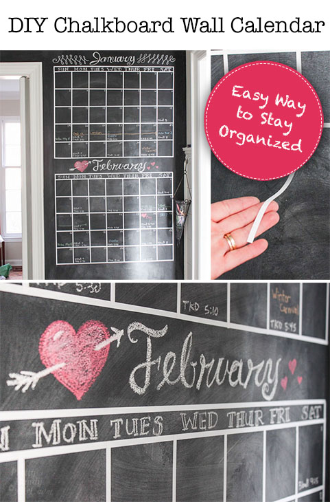 Diy chalkboard wall calendar pretty handy girl diy chalkboard wall calendar solutioingenieria Choice Image