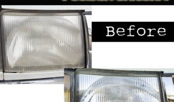 DIY Headlight Restoration | Pretty Handy Girl