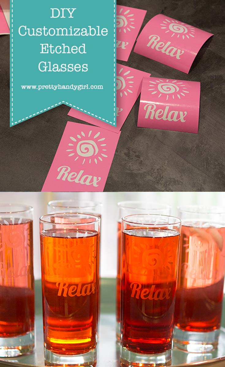 Budget-Friendly Customizable Etched Glasses